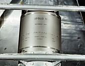 Apollo 12 landing plaque, 1969