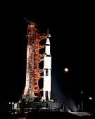 Apollo 12 launch rehearsal, 1969