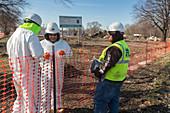 Lead contamination removal, Detroit, USA