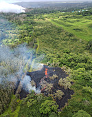 Kilauea eruption fissure, May 2018