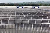 Solar energy farm, Spain