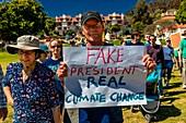 Earth Day protest, California, USA