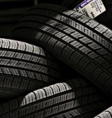 Tyres, close-up