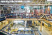 Tyre factory, UK