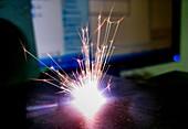Titanium laser ablation