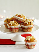 Muffins with stars (Christmas)