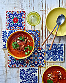 Harissa with tomato sauce