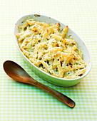 Käse-Makkaroni in Auflaufform