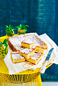 Mango blondies