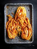 Koreanisches Kimchi (Aufsicht)