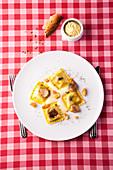 Italian porcini mushroom ravioli