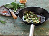 Wild chili asparagus