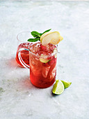 Cranberry and ginger punch