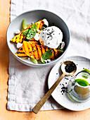 Grilled mango sundae