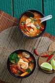 Asian shrimp soup