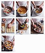Preparing classic Bouillabaisse