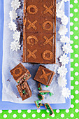 Chocolate Peppermint Squares
