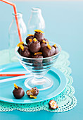 Chocolate Apricot Balls