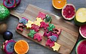 A fruit puzzle