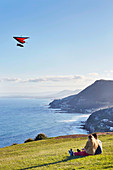 STanwell Tops, Bald Hill look out, hang gliding and paragliding