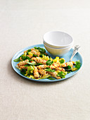 Spicy Stir-fried Squid Salad