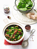 Stir-Fried Chilli Bean Chicken