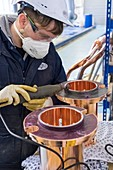 Copper plating factory