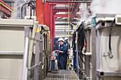 Electroless nickel plating factory