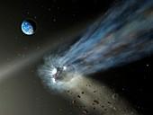 Comet C 2012 K1, illustration