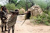 Hadza hunters, Tanzania