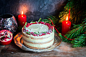 Christmas gigerbread cake