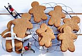 Pepparkakor (gingerbread men, Sweden)