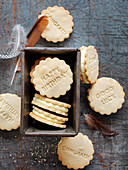 Celebration Honey and Orange Cream Cookies