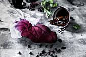 Preparing elderberry cordial