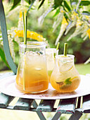 Lemon Grass Sweet Tea Punch