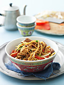 Five-spiced Chicken and Noodle Stir Fry