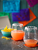 Mexican Blood Orange Margarita