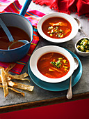 Mexican Tortilla and Lime Soup
