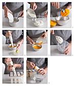 Eis am Stiel mit Joghurteis und Mangosorbet zubereiten