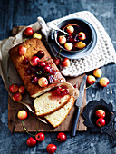 Cherry Syrup Cake