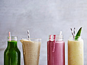 Healthy refresher smoothies