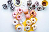 Various doughnuts