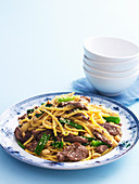 Honey Sesame Beef Stir-fry