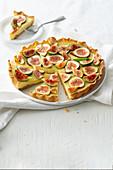 Crostata di fichi (fig tart, Italy)