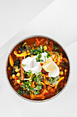 Moroccan sweet potato and chickpea stew