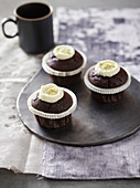 Wasabi chocolate cupcakes