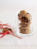 Crunchy muesli cookies