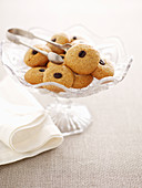 Coffee almond biscuits