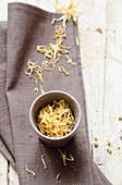 Yellow Edible Petals