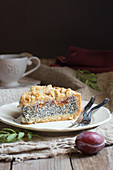 Crumble Cake with poppy seed